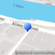 Carte de C.S.O. - Comptoir Sud Ouest Bayonne, France