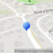 Carte de Cenpac S.A. Anglet, France