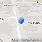 Carte de Fruchaud Distribution S.A.R.L. Nantes, France
