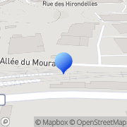 Carte de Elidis Biarritz S.A. Biarritz, France