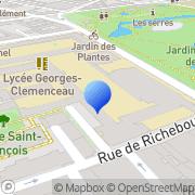 Carte de Groupe H.N. S.A. - Groupe Hocheberg et Niquet Nantes, France