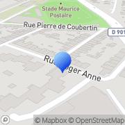 Carte de Entreprise Burnouf S.N.C. Cherbourg, France