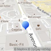 Carte de Cégelec Ouest S.A. Rennes, France