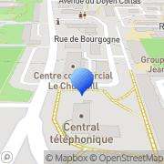 Carte de C.R.L.C. S.A. - Compagnie Rennaise de Linoléum et de Caoutchouc Rennes, France