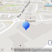Carte de Gerling Namur Assurances du Crédit Pacé, France