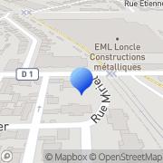 Carte de E.M.L. S.A. - Entreprise Métallique Loncle Saint-Malo, France