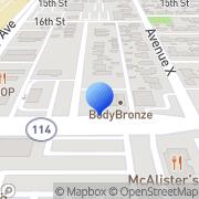 Map RadioShack Lubbock, United States