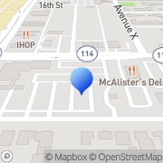 Map BANK OF AMERICA ATM Lubbock, United States