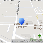Map Custom Flag Company Westminster, United States