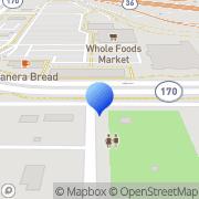 Map Target Portrait Studio Superior, United States