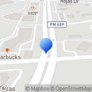 Map Bank Of America Atm El Paso, United States