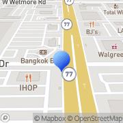 Map Bank Of America Tucson, United States