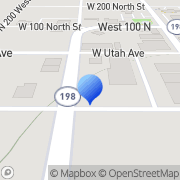 Map True Value Hardware Payson, United States