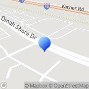 Map Cornerstone Restaurant and Supply Palm Desert, United States