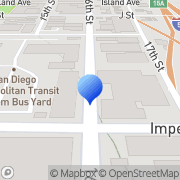 Map Mts Bus San Diego, United States