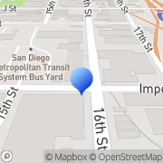 Map San Diego Transit Corp San Diego, United States