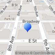 Map Dumpster Rental San Diego San Diego, United States