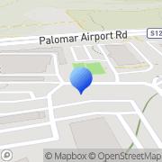 Map Bressi Ranch Self Storage Carlsbad, United States