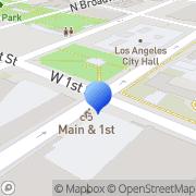 Map MTA Metro Rail Los Angeles, United States