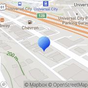 Map Reel Memories Studio City, United States