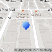 Map B& R food services Los Angeles, United States