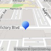 Map Vip Showgirls North Hollywood, United States