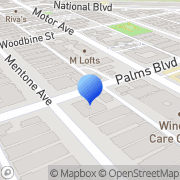 Map Hillcrest Party Rentals Los Angeles, United States