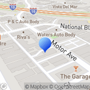 Map C W Howe Assoc Los Angeles, United States