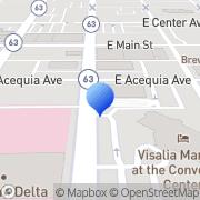 Map Heslinga & Wise Pumping Svc Visalia, United States