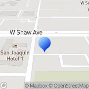 Map James G. Palmer Appraisals Inc Fresno, United States