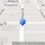 Map Culligan Water Softeners Santa Maria, United States