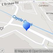 Map Kteh San Jose, United States