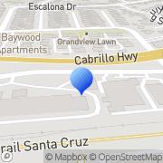 Map RV Service Center Of Santa Cruz Santa Cruz, United States