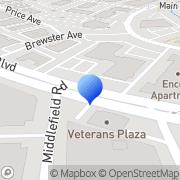 Map Peninsula Corporate Ctr Redwood City, United States