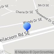 Map Evergreen Windows LLC Olympia, United States