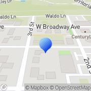 Map Serif Publications Veneta, United States