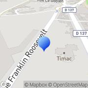 Carte de C.F.P.R. S.A. - Compagnie Financière et de Participations Roullier Saint-Malo, France