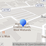 Map Skin IQ Clinic Cradley Heath, United Kingdom