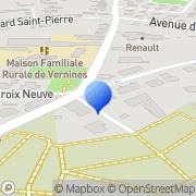 Carte de Etablissements Grimaud S.A. Questembert, France