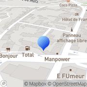 Carte de Avon Polymères France S.A. Vannes, France