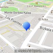 Map Uk Cerajeros Areeta, Spain