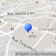 Carte de Corvis Algety S.A. Lannion, France
