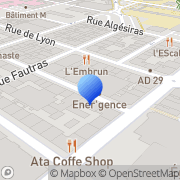 Carte de Empreinte S.A. Brest, France