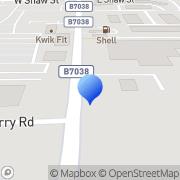 Map Carselect1.Com Ayrshire, United Kingdom