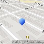 Map Abingdon Construction Brooklyn, United States