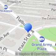 Map Kaeles Brooklyn, United States