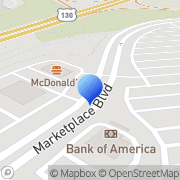 Map Bank of America Trenton, United States