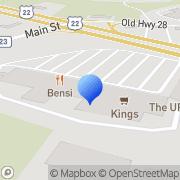 Map RadioShack Whitehouse Station, United States