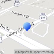 Map Norman L Stapleton Jr - Nationwide Insurance Altoona, United States