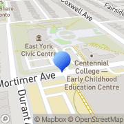 Map EcoStar Insulation - Spray Foam Professionals East York, Canada